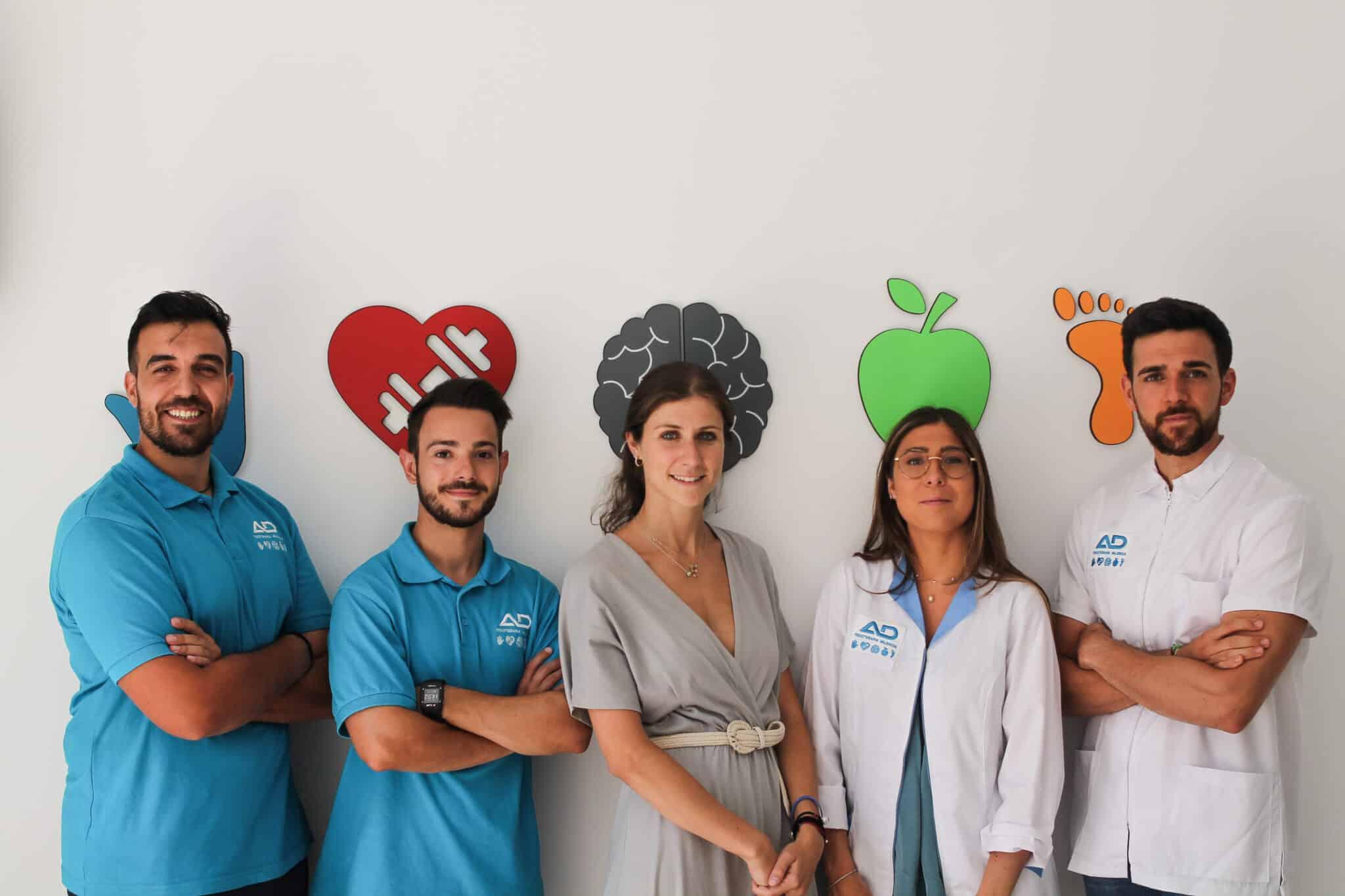 Perfil equipo AD Fisioterapia Valencia