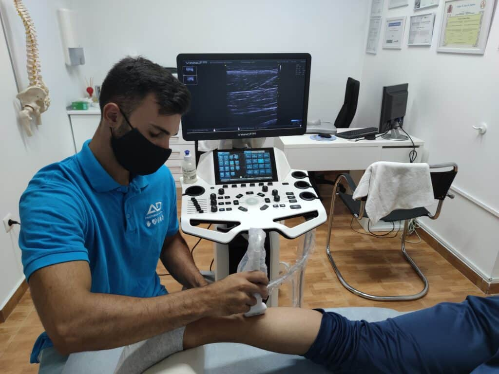ecografía en fisioterapia